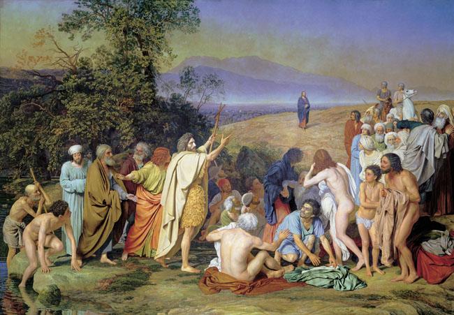 Александр Иванов, «Явление Христа народу»